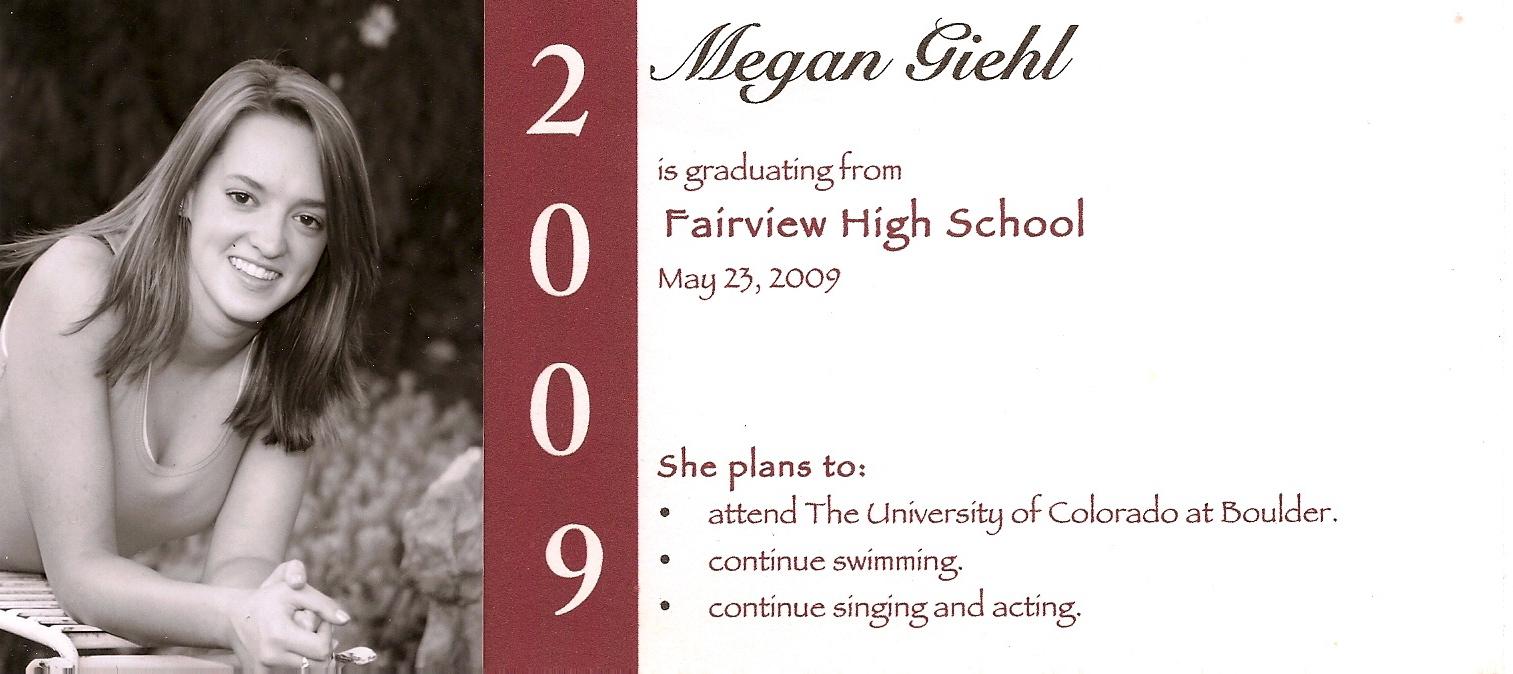 Senior Graduation Invites as perfect invitations sample