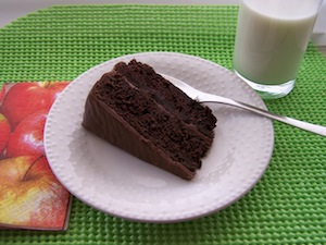 Post image for Decadent Chocolate Cake with Hershey Bar Frosting