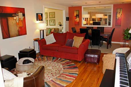 How To Helps A North Facing Room Feel Warm And Cozy Just