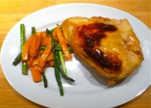 buttermilk roast chicken recipe from the Smitten Kitchen