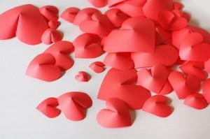 HowAboutOrange-Paper Hearts